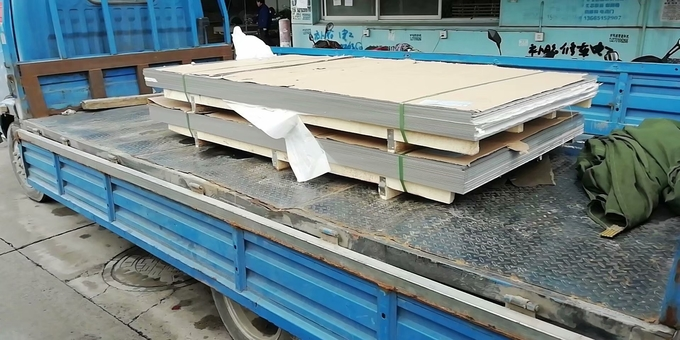 Stainless AISI 321  SUS321 Grade UNS32100 Steel Sheet 1Cr18Ni9Ti Inox Sheet